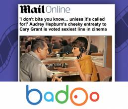 Sexiest Line in Cinema - Badoo