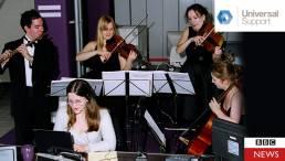Call Centre Quartet - Live Hold Music