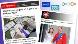 How to Meet a Prince - Badoo Coverage